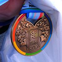 大阪マラソン2012 チャレンジランに参加しました